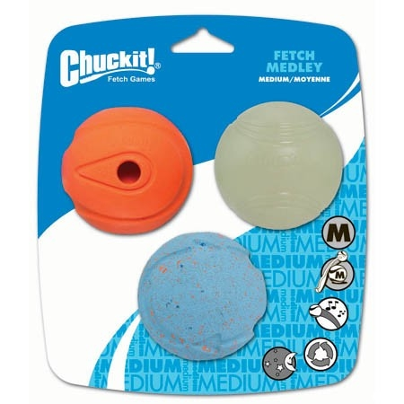 Chuckit. Fetch Medley Medium